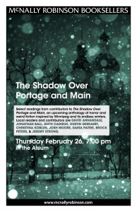 Shadow over Portage & Main Poster